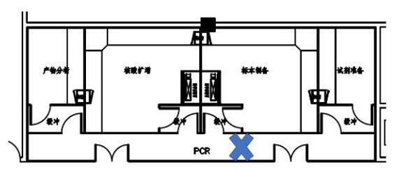 PCR实验室装修设计错误走廊