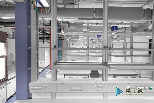 实验室家具配套及气路管道系统安装