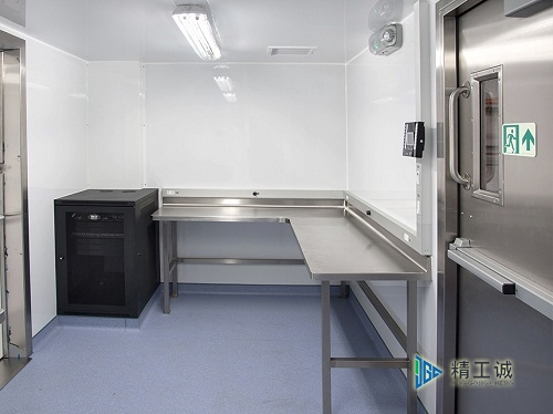 洁净实验室不锈钢实验家具配套安装